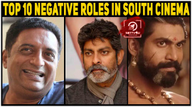Top 10 Negative Roles In South Cinema