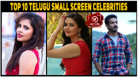 Top 10 Telugu Small Screen Celebrities