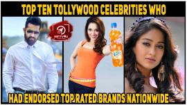 Top Ten Tollywood Celebrities Who Had Endorsed Top Rated Brands Nationwide