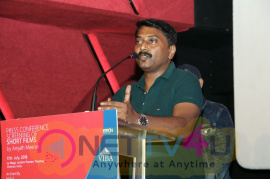 Director Amjath Meerans New Movie Announcement Press Meet Stills  Tamil Gallery