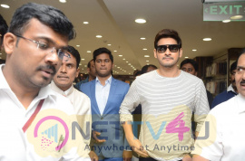 Mahesh Babu Launches Home Needs Section At Chennai Silks In Hyderabed Classy Images Telugu Gallery