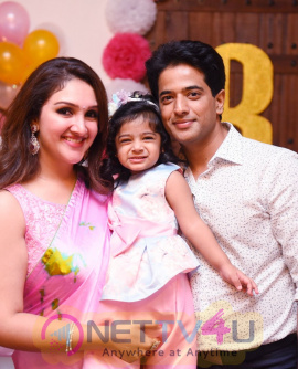 Mrs.Sridevi Vijaykumar  Daughter Rupikaa 2nd Year Birthday Celebration Photos  Tamil Gallery