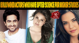 Top 10 Bollywood Actors Who Have Opted Science For Higher Studies
