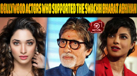 Top 10 Bollywood Actors Who Supported The Swachh Bharat Abhiyan