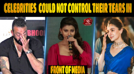 Top 10 Bollywood Celebrities Who Could Not Control Their Tears In Front Of Media