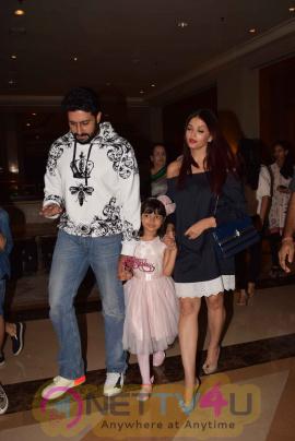 Aishwarya Rai & Abhishek Bachchan Celebrate Aaradhya Bachchan Birthday Stills