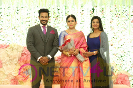 Actress Chandini Tamilarasan Wedding Stills