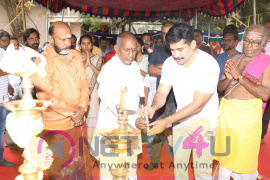 Tamilarasan Movie Pooja Photos