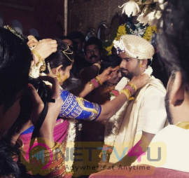 Director Simple Suni Marriage Exclusive Images Kannada Gallery