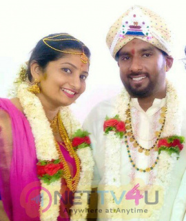 Director Simple Suni Marriage Exclusive Images