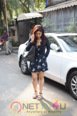 Bhumi Pednekar Went To Indigo Restaurant In Andheri
