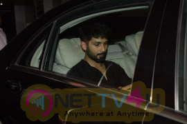 Shahid Kapoor Came To Ekta Kapoor Home In Juhu