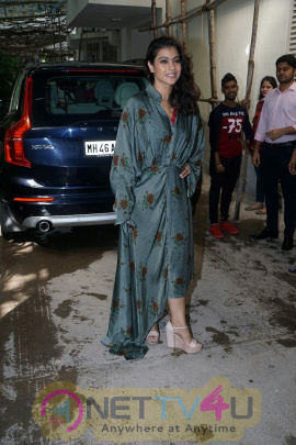 Kajol Attends The Screening Of Incredibles 2 At Sunny Sound Juhu Cute Images  Hindi Gallery