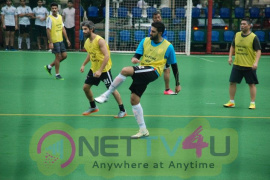 Abhishek Bachchan Came At Playing Football