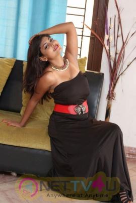 Actress Priyanka Augustin Adorable Stills