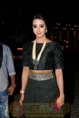 Actress Sanjana In Filmfare Award Function Latest Images