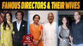 10 Famous Directors But Their Wives Are Less Known