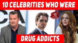 10 Hollywood Celebrities Who Were Drug Addicts Before