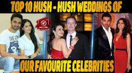 Top 10 Hush-hush Weddings Of Our Favourite Celebrities