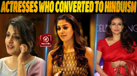 Top 10 Indian Actresses Who Converted To Hinduism
