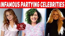 Top 10 Infamous Partying Celebrities