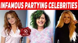 Top 10 Infamous Partying Celebrities