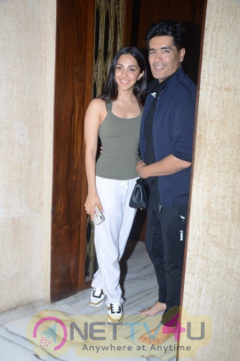 Gorgeous Kiara Advani With The Ace Designer Manish Malhotra Beautiful Images