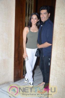 Gorgeous Kiara Advani With The Ace Designer Manish Malhotra Beautiful Images  Hindi Gallery
