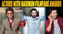 Actors With Maximum Filmfare Awards
