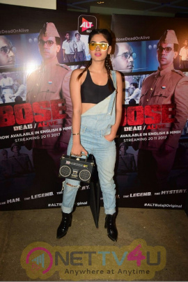 Screening Of ALT Balaji Film Bose Stills