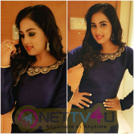 Actress Srushti Dange Cute Images