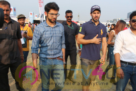 Chunky Pandey & Dino Morea At Pet Fed Festival Pics