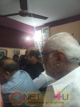 Rajinikanth Pays His Last Respects To His Evergreen Makeup Artist Muthappa
