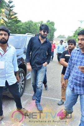 Chalo Movie Team Promotional Tour At GIET College Rajahmundry Photos Telugu Gallery