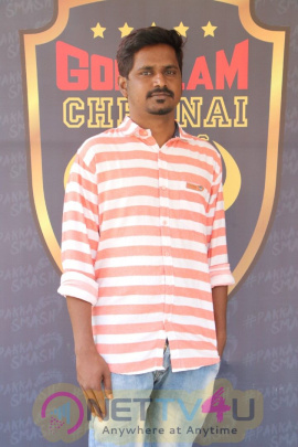 Gokulam Chennai Rockers Team Logo Launch Event Stills