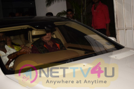 Salim Khan Spotted At Sunny Sound Studio