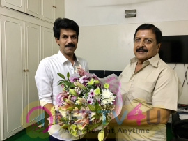 Actor Sivakumar Praised Naachiyaar Film Still