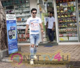 Rajkumar Rao Spotted At Juhu Fantastic Images  Hindi Gallery