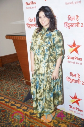 Media Interactions With Sunidhi Chauhan And Badshah The Judges Of Star Plus Show Dil Hai Hindustani 2 At  Juhu Lovely  Images En