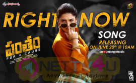 Pantham Second Song Announcement Rocking Poster