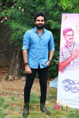Kootathil Oruthan Movie Press Meet Stills