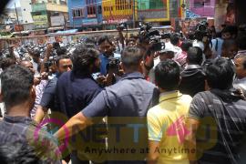 RX100 Movie Team  Success Tour At Tirupati Pratap Theatre Awesome Images