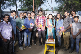 Atharvaa New Movie First Schedule Over Tamil Gallery