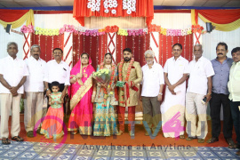Tamil Film Producer Council Ec Member Jafar's Son Marriage Reception Photos Tamil Gallery