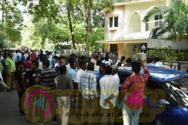 Vishal Opposite Parties In The TFPC Locked The TFPC Office Pics Tamil Gallery