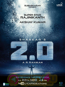 2.0 Movie Attractive Posters