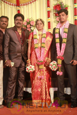 Gana Ulaganathan Daughter Reception Photos