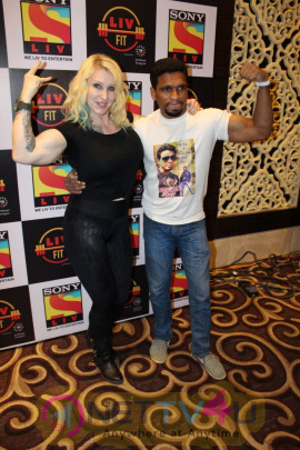 Sony LIV & Suniel Shetty Host Launching Of LIV FIT Stills