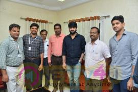 Chalo Movie Promotional Tour At Vishnu College Bhimavaram Stills Telugu Gallery