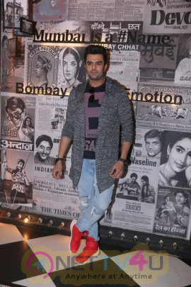 Manish Paul & Iulia Vantur At The Launch Of Album Harjai Stills